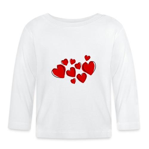 hearts herzen - Baby Langarmshirt