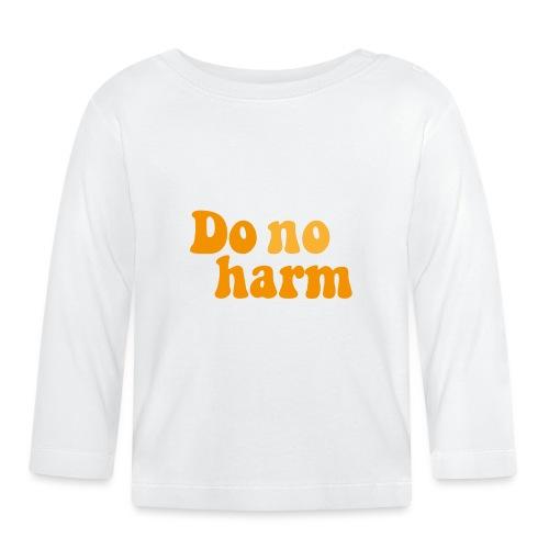 DoNoHarm - Långärmad T-shirt baby