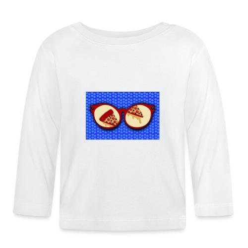Pizza Liebhaber Gläser - Baby Langarmshirt