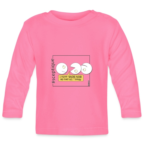 Scepticisme et Bon Sens - T-shirt manches longues Bébé