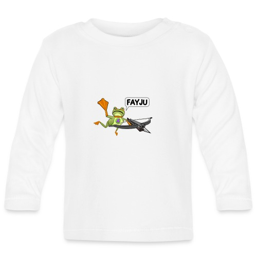 Amazing Frog Crossbow - Baby Long Sleeve T-Shirt