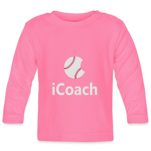 Baseball Logo iCoach - Baby Long Sleeve T-Shirt