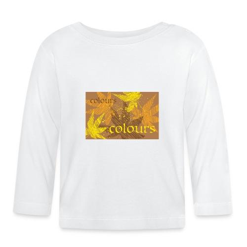 autumn theme - Koszulka niemowlęca z długim rękawem