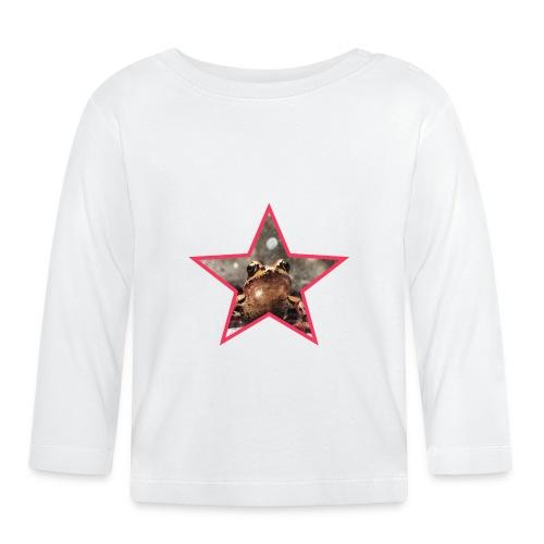 Frog Star - Koszulka niemowlęca z długim rękawem