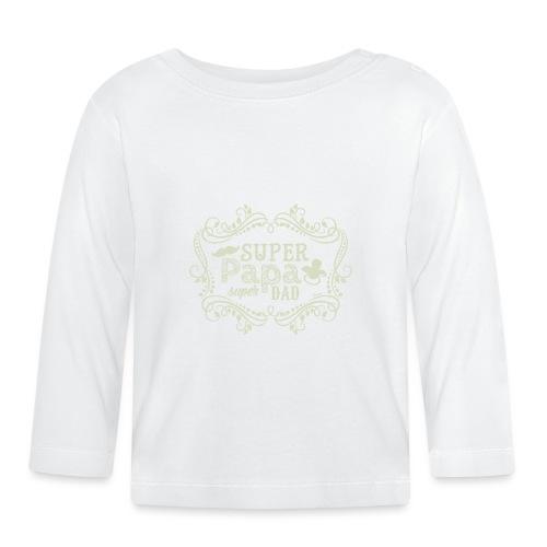 Super Papa (H) - T-shirt manches longues Bébé