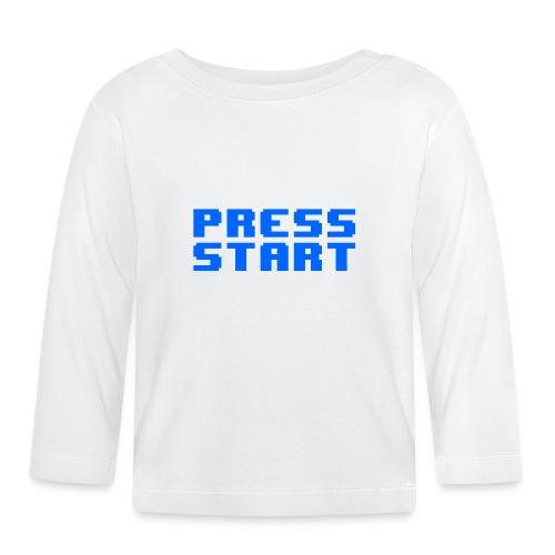 Press Start - Maglietta a manica lunga per bambini