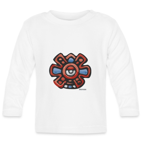 Aztec Motion Earth - Baby Long Sleeve T-Shirt