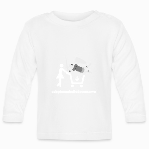 Tee Shirt Homme Bicolore adopteuneboitedeconserve - T-shirt manches longues Bébé