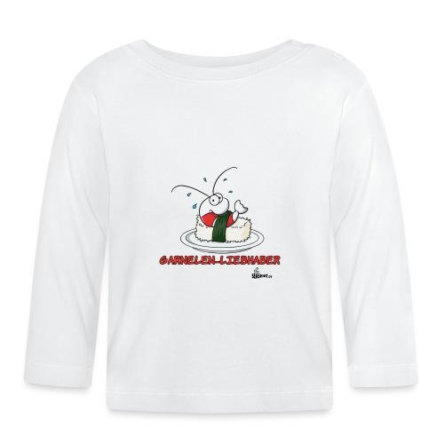 garnelenliebhaber - Baby Langarmshirt