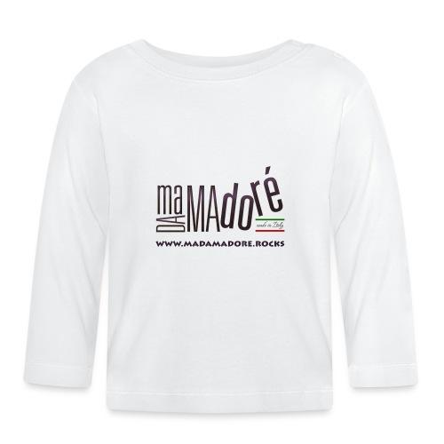 T-Shirt - Uomo - Logo Standard + Sito - Maglietta a manica lunga per bambini