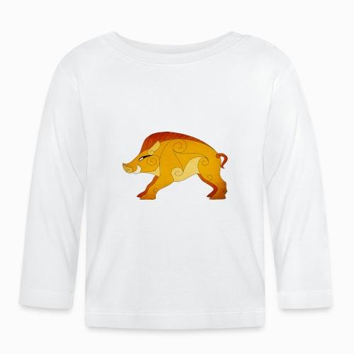 Sanglier Gaulois - T-shirt manches longues Bébé