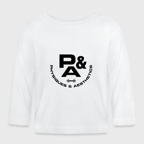CAMISETA AJUSTADA P&A BLANCO - Camiseta manga larga bebé