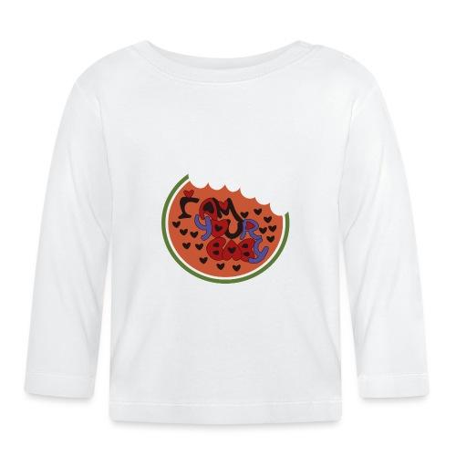 SOY TU CHICA - Camiseta manga larga bebé