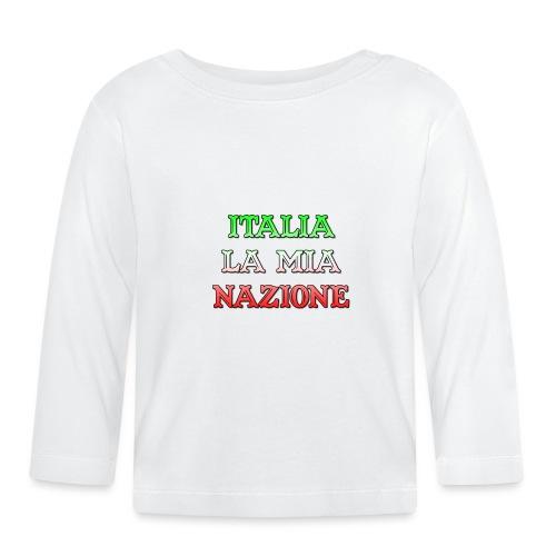 ITALIA LA MIA NAZIONE - Maglietta a manica lunga per bambini