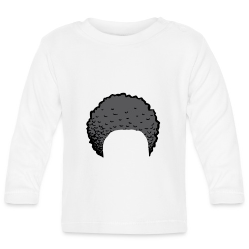 ZayDoItBest Afro Rockin' Case - Baby Long Sleeve T-Shirt