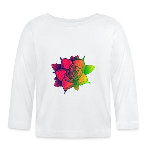 rose tricolore - T-shirt manches longues Bébé