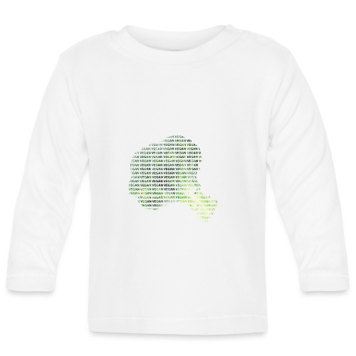 Vegan - Langarmet baby-T-skjorte