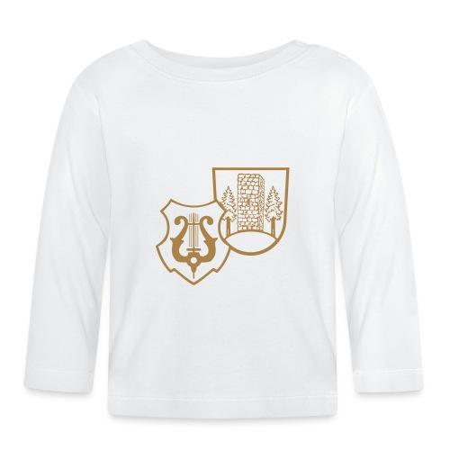 MVW Welden Logo Schwarz gross - Baby Langarmshirt