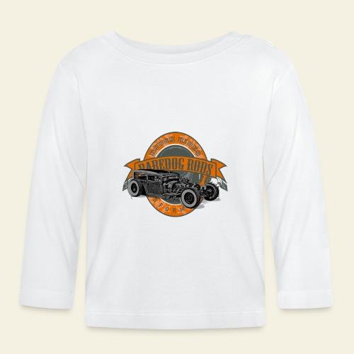 Raredog Rods Logo - Langærmet babyshirt