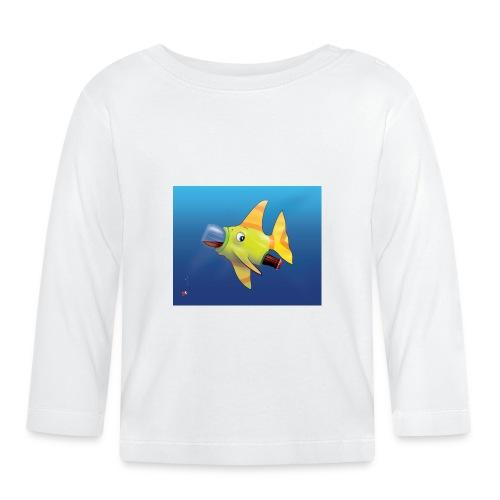 Greedy Fish - T-shirt manches longues Bébé