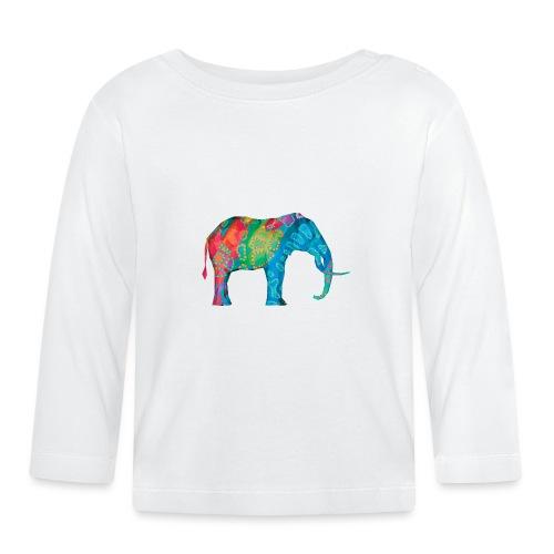 Elefant - Baby Long Sleeve T-Shirt