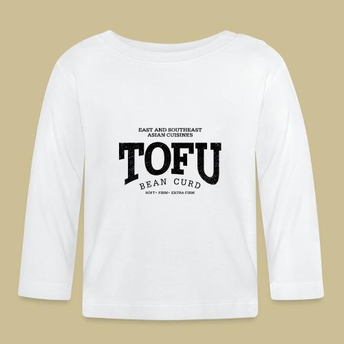 Tofu (black oldstyle) - Baby Langarmshirt