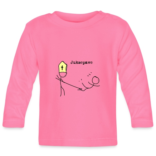 juksepave png - Langarmet baby-T-skjorte