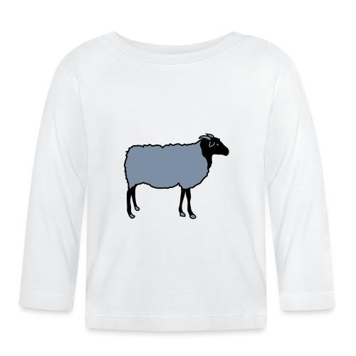 schaf, schafe, lamm, lämmer, heidschnucke - Baby Langarmshirt
