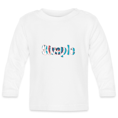 Simple - Baby Long Sleeve T-Shirt