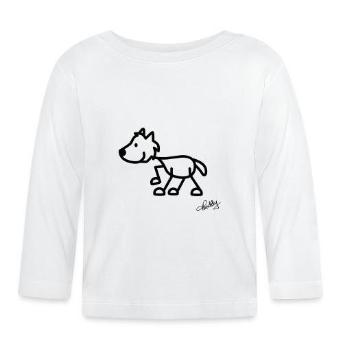 wolf - Baby Langarmshirt
