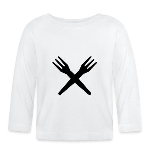 gekruiste frietvorken - trident - T-shirt manches longues Bébé
