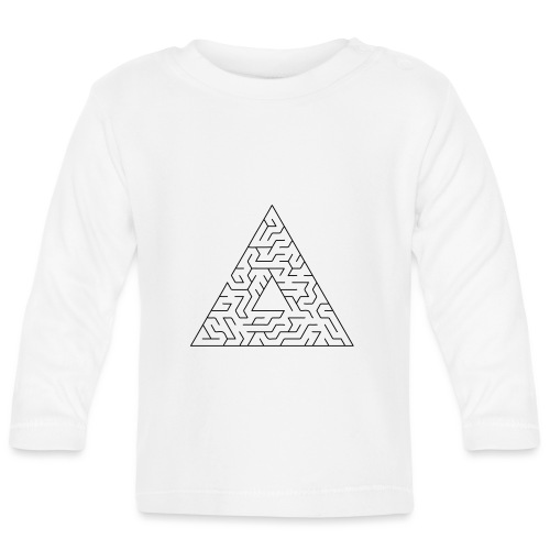 Triangle Maze - Baby Long Sleeve T-Shirt