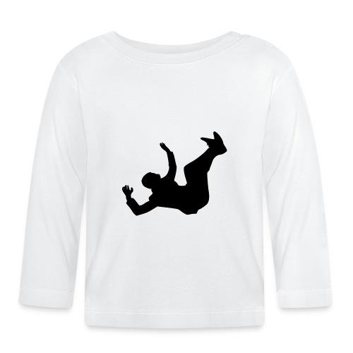 Fallender Mann - Baby Langarmshirt