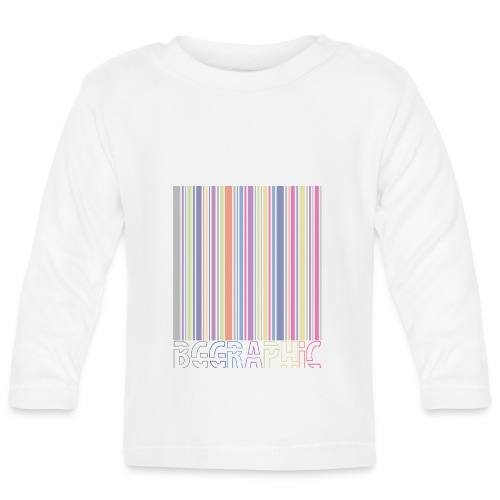 Bar code - Langærmet babyshirt
