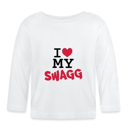 I love my swagg - T-shirt manches longues Bébé