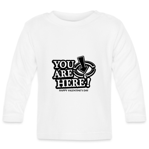 bbb youarehere love - Baby Long Sleeve T-Shirt
