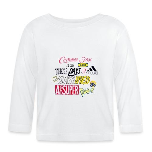PHYK-logoja - Vauvan pitkähihainen paita