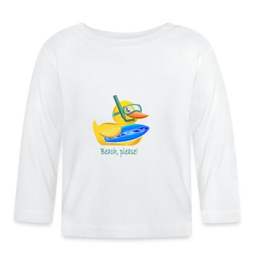 Badeente - Baby Langarmshirt