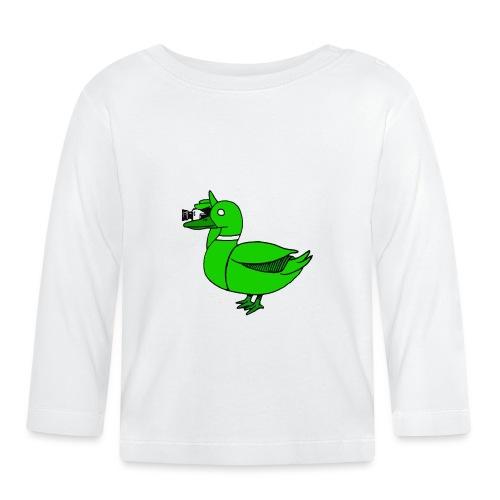 Greenduck Film Just Duck - Langærmet babyshirt