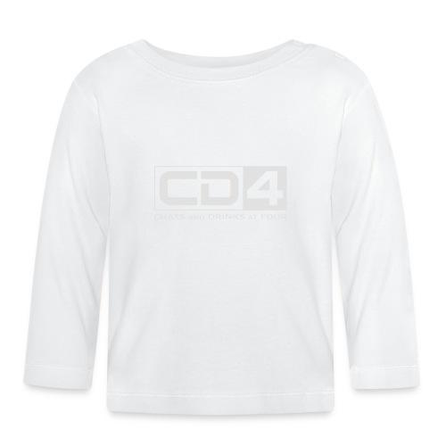 cd4 logo dikker kader bold font - T-shirt
