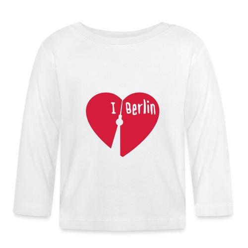 I love Berlin (1-farbig) - Baby Langarmshirt