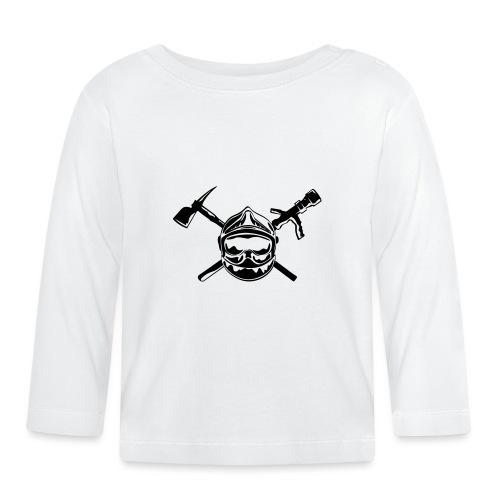 casque_pompier_hache et lance - T-shirt manches longues Bébé