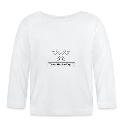 Logo Team Hache-Tag - T-shirt manches longues Bébé
