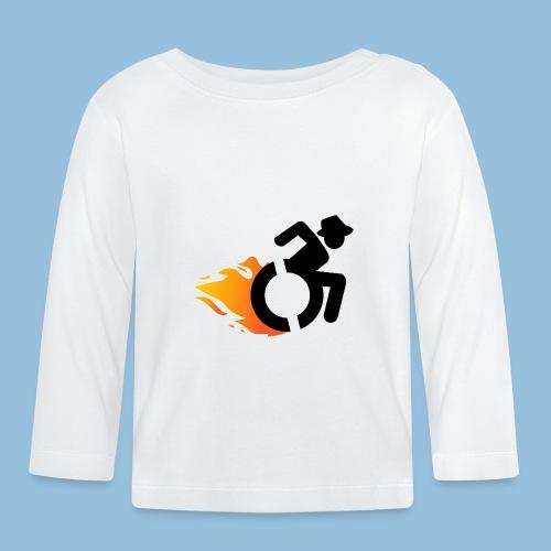 Roller met vlammen 016 - T-shirt