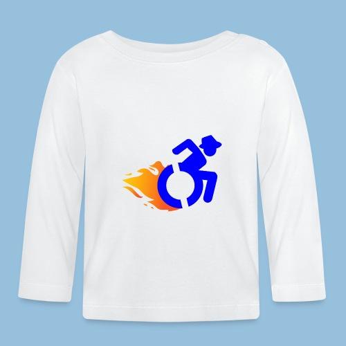 Roller met vlammen 017 - T-shirt