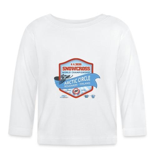 MM Snowcross 2020 virallinen fanituote - Vauvan pitkähihainen paita