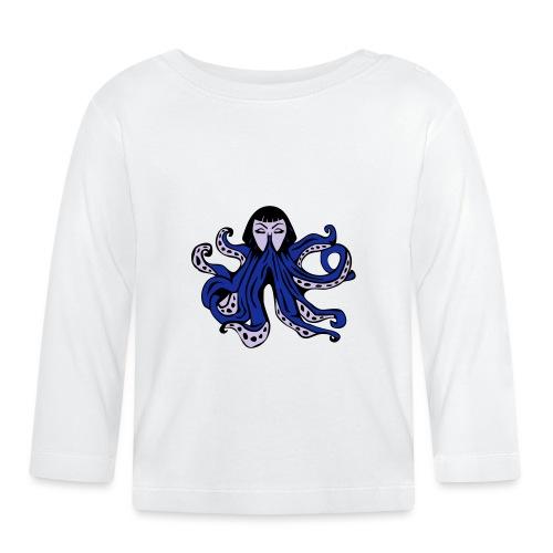 Octopus Face - Baby Long Sleeve T-Shirt