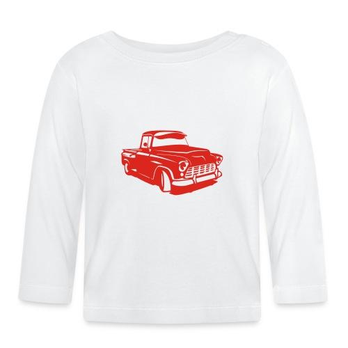 Chevi Hotrod - PrintShirt.at - Baby Langarmshirt