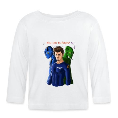 Human and Aliens - Maglietta a manica lunga per bambini
