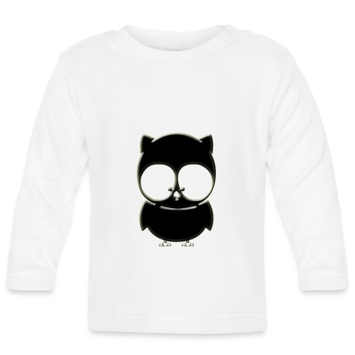 ugler15-png - Langærmet babyshirt